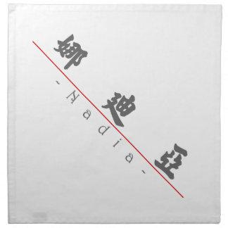 Nombre chino para Nadia 21268_4.pdf Servilleta