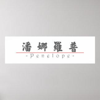Nombre chino para Penélope 20287_4 pdf Posters