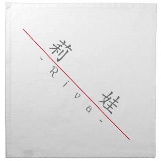 Nombre chino para Riva 20307_1.pdf Servilletas De Papel