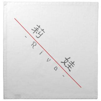 Nombre chino para Riva 20307_2.pdf Servilleta De Papel