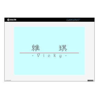 Nombre chino para Vicky 20367_2.pdf Portátil Calcomanía
