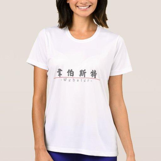 Nombre chino para Webster 20866_4.pdf Camiseta