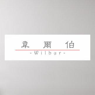 Nombre chino para Wilbur 20869_2 pdf Posters