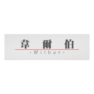 Nombre chino para Wilbur 20869_3 pdf Posters