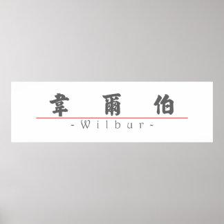 Nombre chino para Wilbur 20869_4 pdf Posters