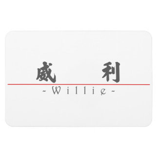 Nombre chino para Willie 20872_4 pdf Iman De Vinilo