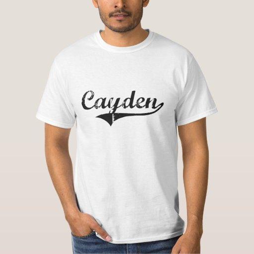 Nombre clásico del estilo de Cayden Remera