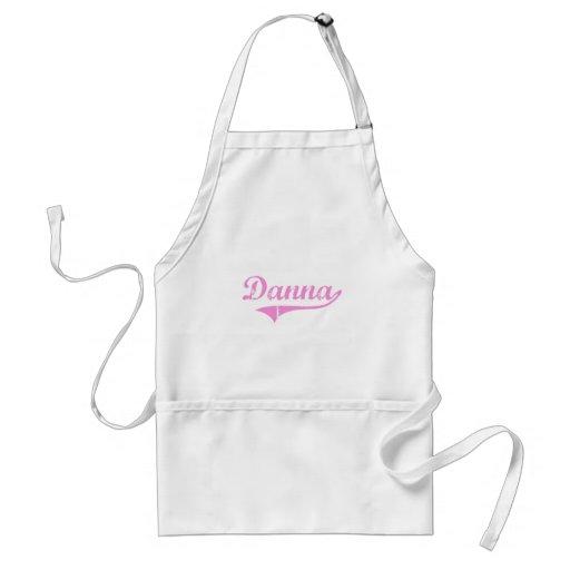 Nombre clásico del estilo de Danna Delantal