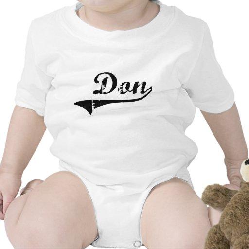 Nombre clásico del estilo de Don Traje De Bebé