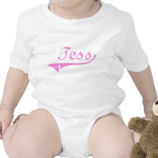 Nombre clásico del estilo del Tess Traje De Bebé