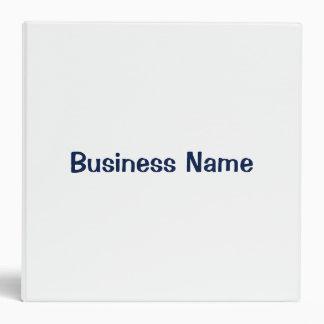 """Nombre comercial en blanco 2"""" de Deluxeforms firma Carpeta 2"""""""