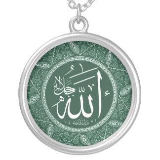 Nombre de Alá en árabe Colgante Redondo