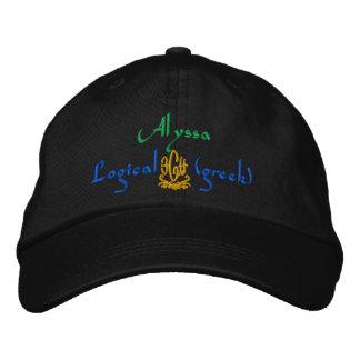 Nombre de Alyssa con el significado griego Gorra De Béisbol Bordada