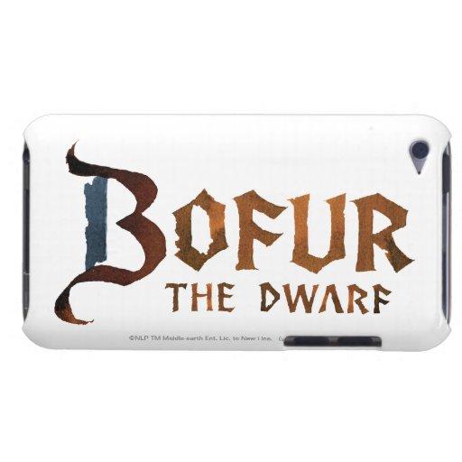 Nombre de Bofur Barely There iPod Fundas