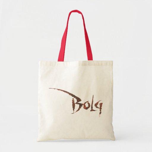 Nombre de Bolg Bolsa Tela Barata