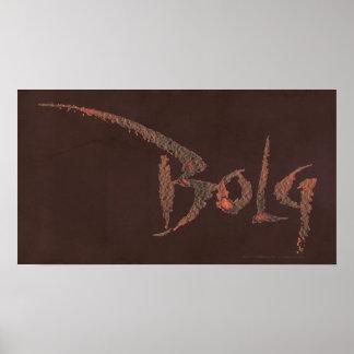 Nombre de Bolg Póster