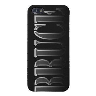 Nombre de BRUCE calificado iPhone 5 Coberturas