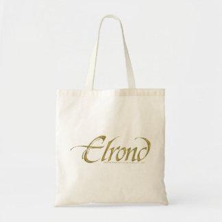 Nombre de Elrond texturizado Bolsa