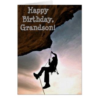 Nombre de encargo - cumpleaños para el muchacho - tarjeta de felicitación
