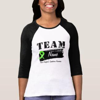 Nombre de encargo del equipo - linfoma Non-Hodgkin Camisetas
