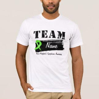 Nombre de encargo del equipo - linfoma Non-Hodgkin Playera