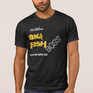 Nombre de encargo V03 de los PESCADOS GRANDES Camisetas