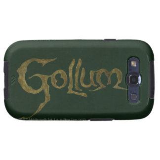 Nombre de Gollum - texturizado Galaxy S3 Carcasa