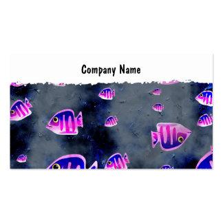 Nombre de Grunge Fish, Company Tarjetas De Negocios