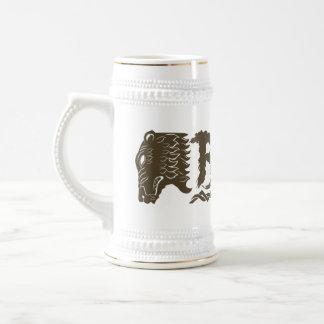 Nombre de la cabeza del oso de BEORN™ Jarra De Cerveza