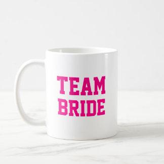 Nombre de la dama de honor de la novia del equipo taza de café