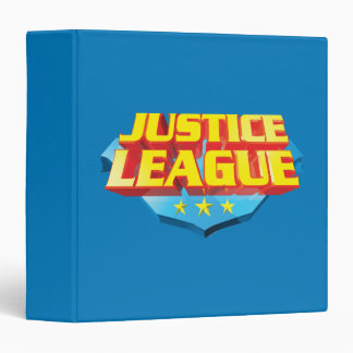 """Nombre de la liga de justicia y logotipo del escud carpeta 1 1/2"""""""