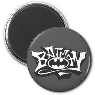 Nombre de la pintada de Batman Imán De Frigorífico
