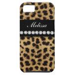 Nombre de los diamantes de la piel del guepardo iPhone 5 cárcasas