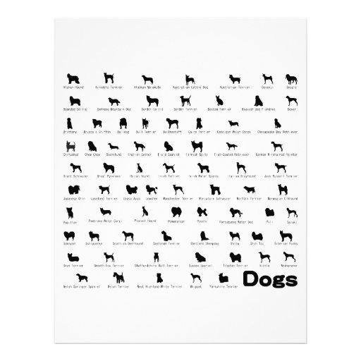 Nombre de los perros plantillas de membrete