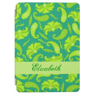 Nombre de Paisley del verde esmeralda de la cal Cover De iPad Air