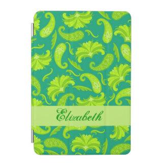 Nombre de Paisley del verde esmeralda de la cal Cubierta De iPad Mini