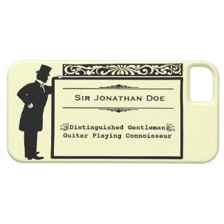 Nombre de Personalizable del caballero del iPhone 5 Carcasas
