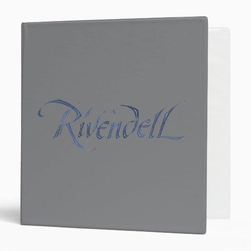"""Nombre de Rivendell texturizado Carpeta 1 1/2"""""""