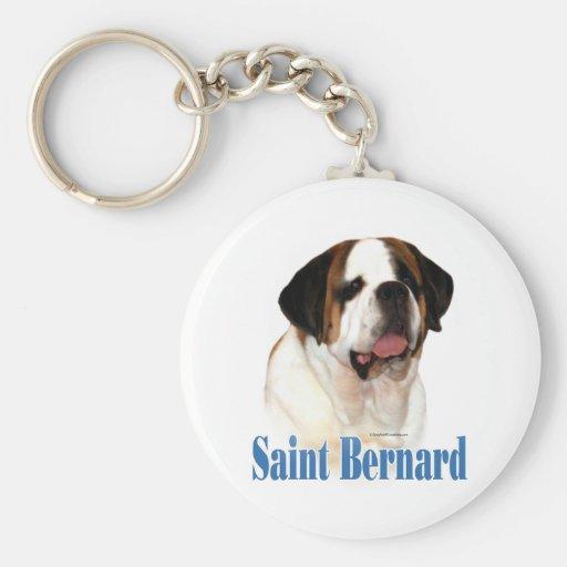 Nombre de St Bernard Llaveros