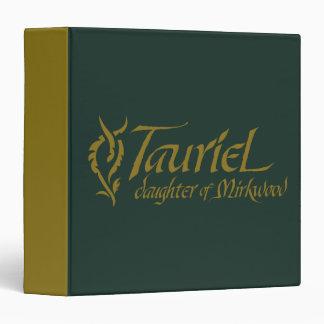 "Nombre de TAURIEL™ Carpeta 1 1/2"""
