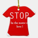 Nombre del amor adorno de reyes