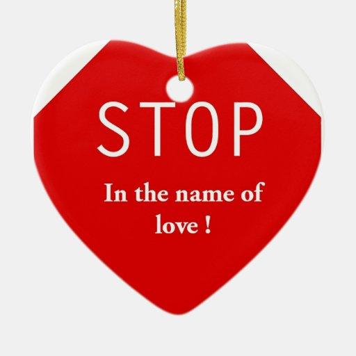 Nombre del amor ornamentos de reyes