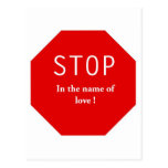 Nombre del amor tarjeta postal