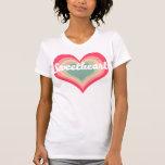 Nombre del animal de compañía del amor camiseta