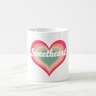 Nombre del animal de compañía del amor tazas de café