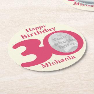 Nombre del feliz cumpleaños 30 y prácticos de