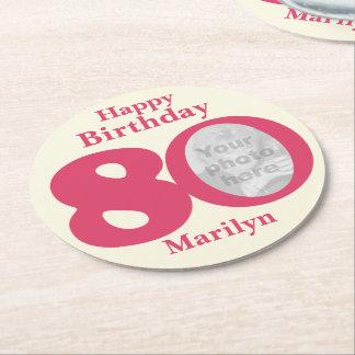 Nombre del feliz cumpleaños 80 y prácticos de