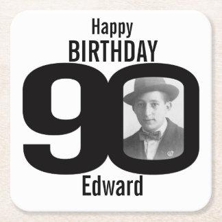 Nombre del feliz cumpleaños 90.o y prácticos de