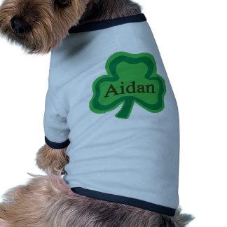 Nombre del irlandés de Aidan Ropa De Mascota