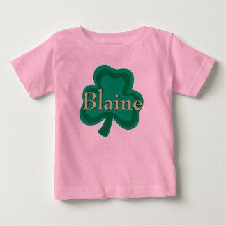 Nombre del irlandés de Blaine Playera De Bebé